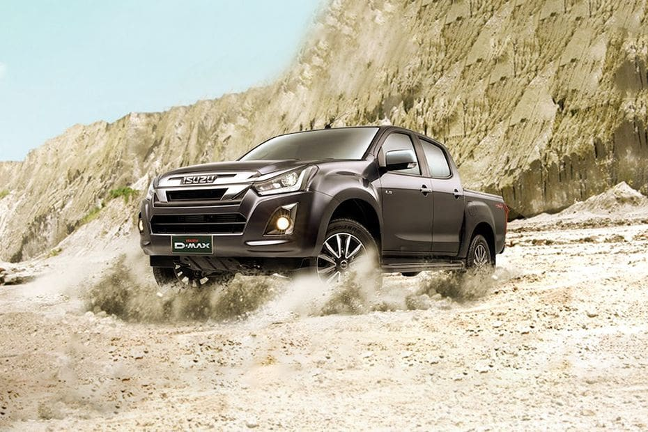 D-Max Front angle low view