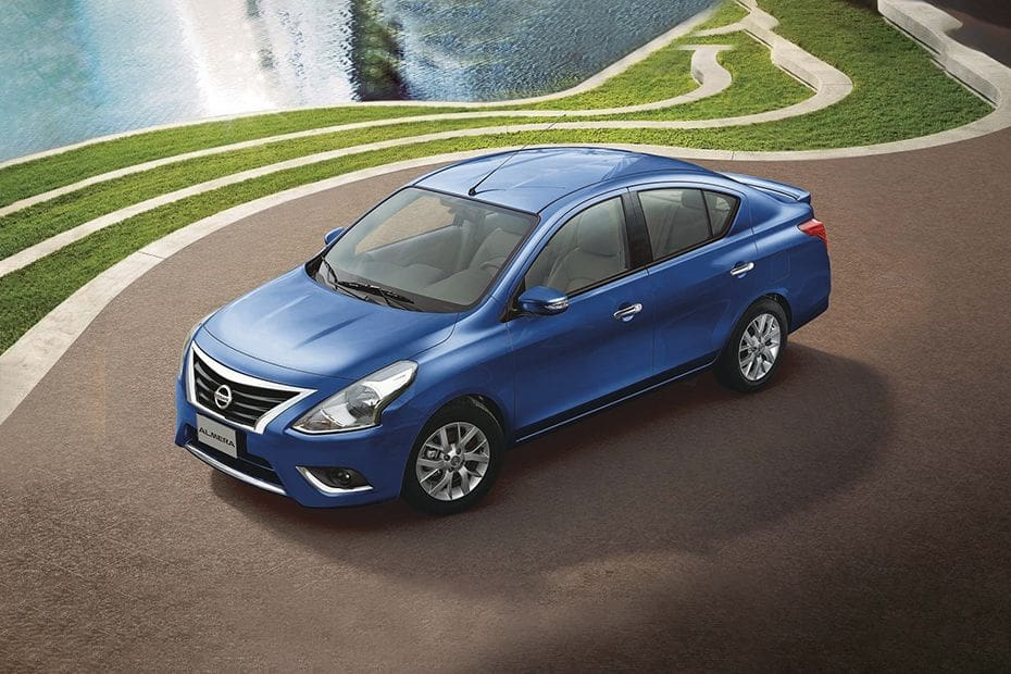 Almera Front angle low view