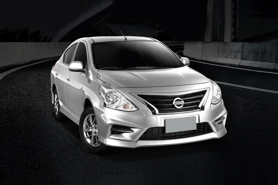 Nissan Almera Front Medium View