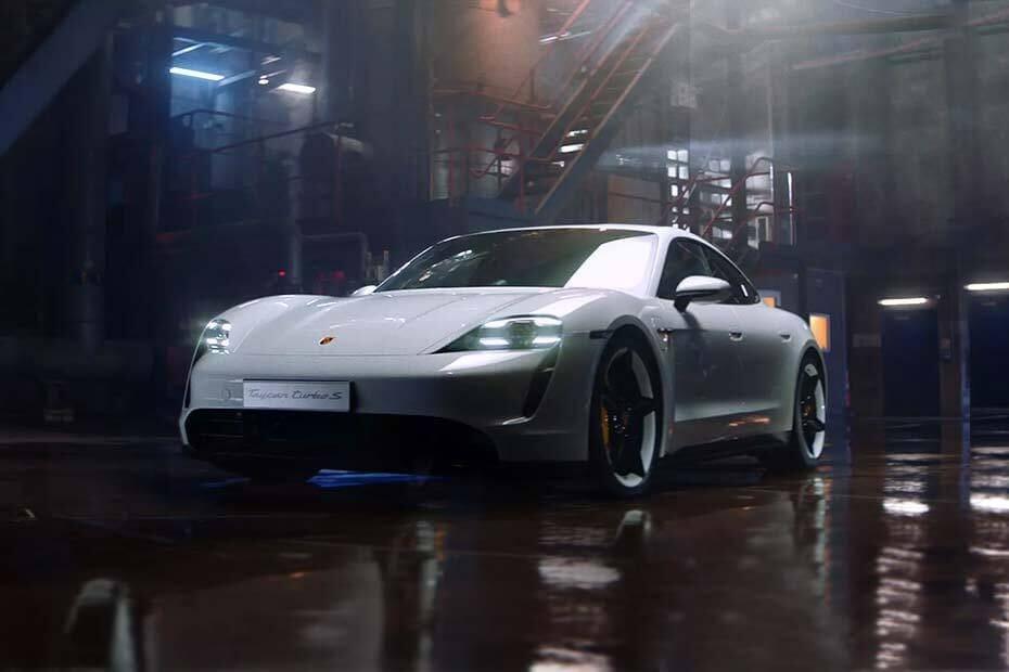 Porsche Taycan Images