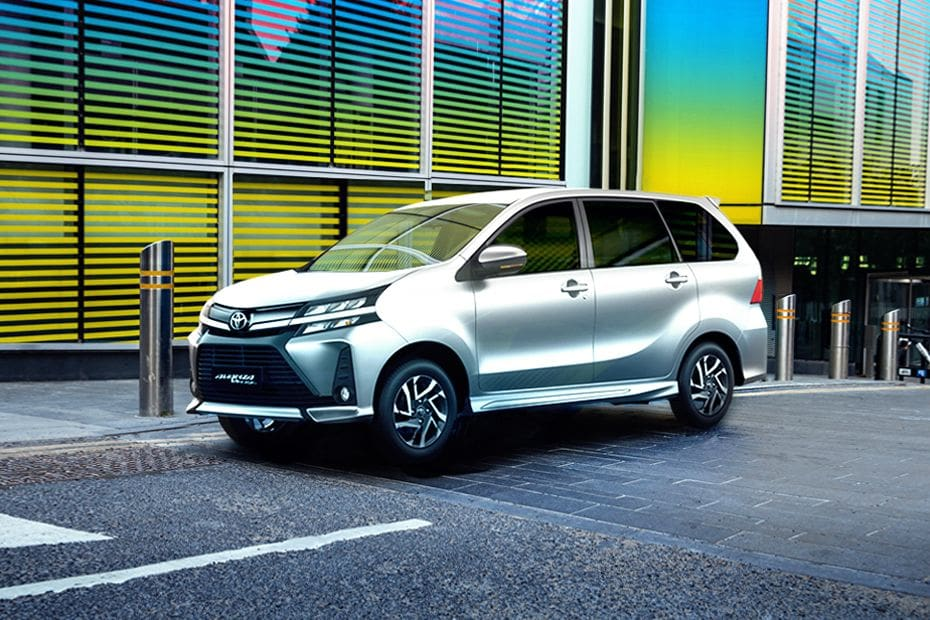Avanza Front angle low view