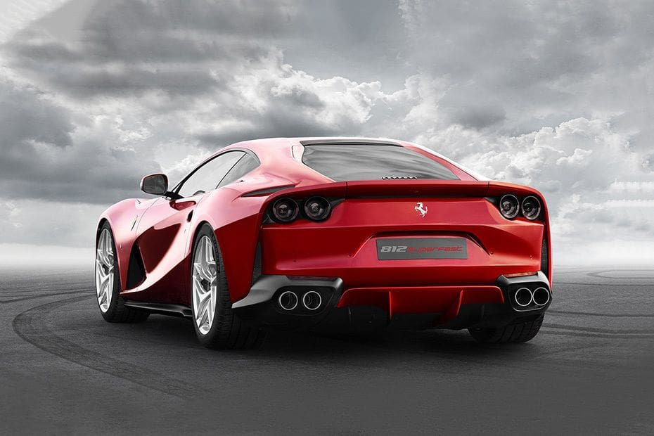Ferrari 812 Superfast Colors