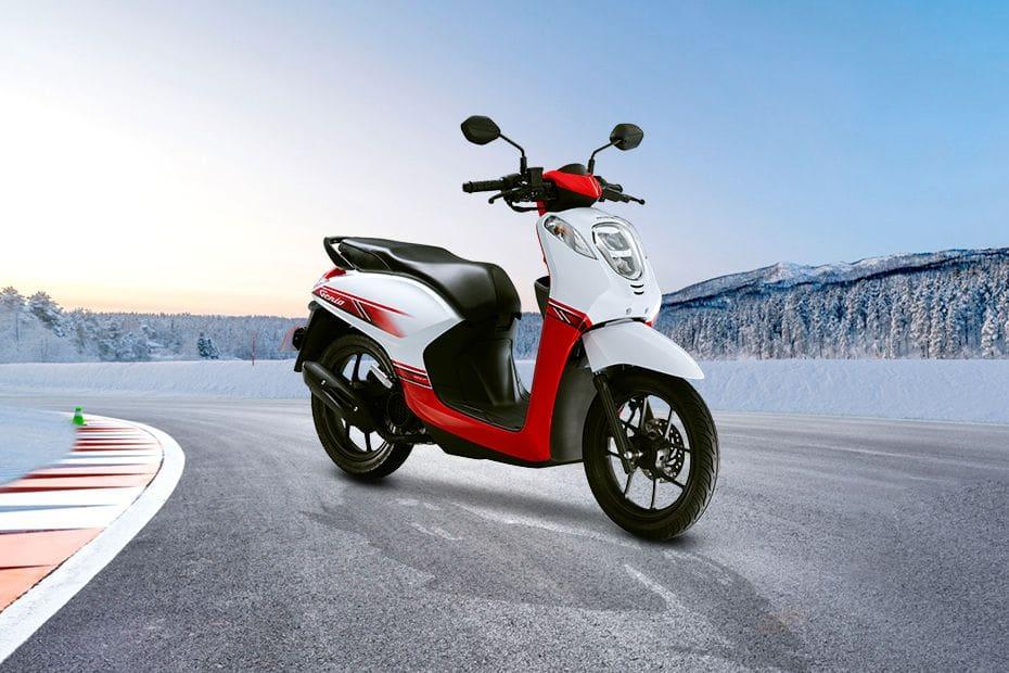 Honda Genio Slant Rear View Full Image