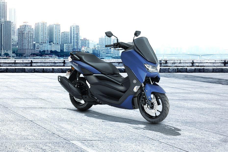 Yamaha Nmax Slant Rear View Full Image