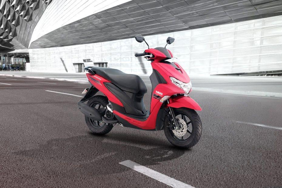 Yamaha Mio Gravis Slant Rear View Full Image