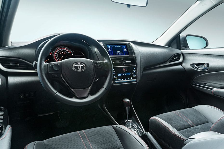 Dashboard View of Vios