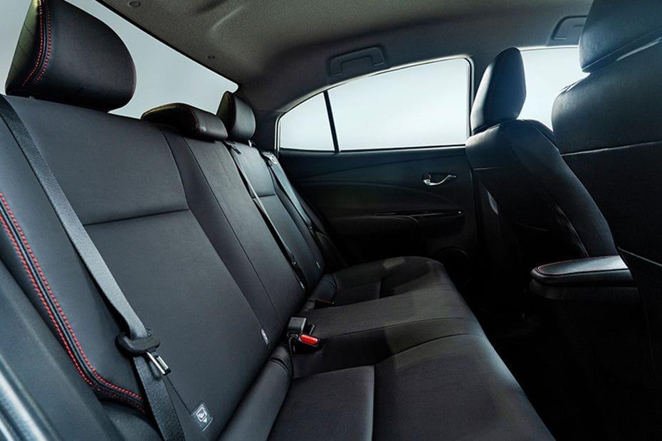 Toyota Vios Rear Seats