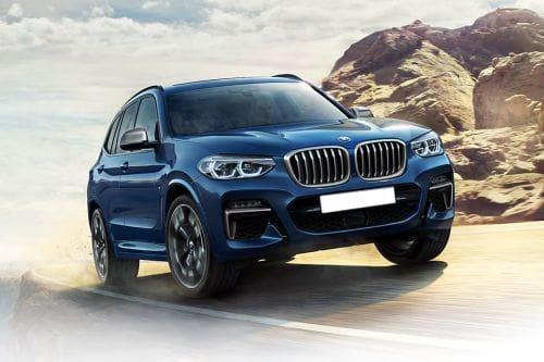 BMW X3 Front Medium View