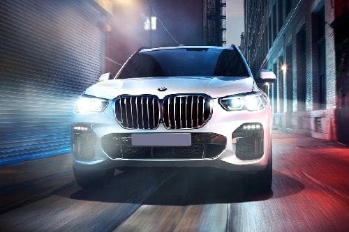Full Front View of X5