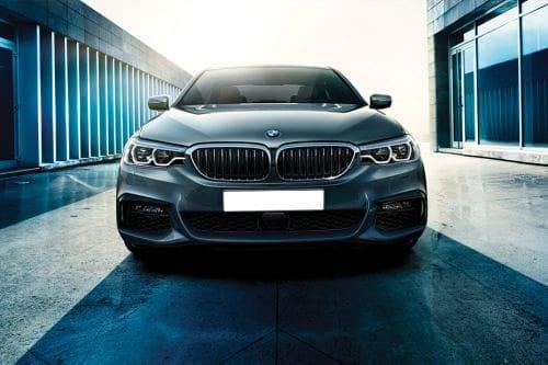 Full Front View of 5 Series Sedan