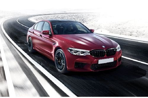 M5 Sedan Competition Front angle low view