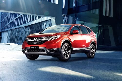 CR-V Front angle low view