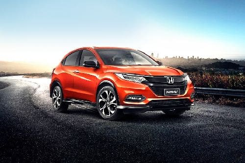 HR-V Front angle low view