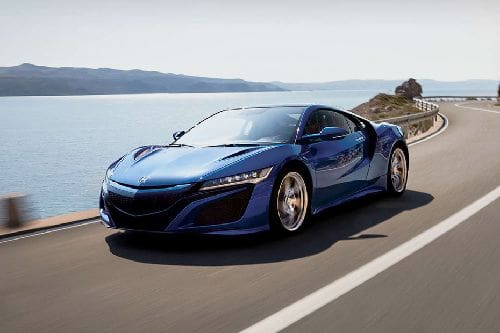 NSX Front angle low view