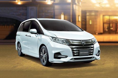 Honda Odyssey Front Medium View
