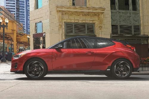 Veloster Side view