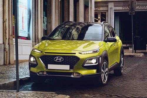 Hyundai Kona Front Side View