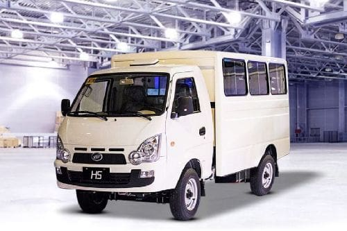 Bayanihan H5 Front angle low view