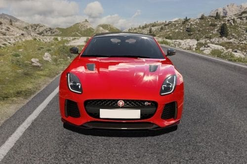 Full Front View of F-Type