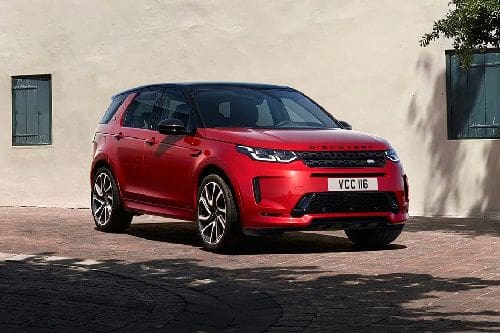 Discovery Sport Front angle low view