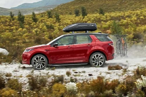 Discovery Sport Side view