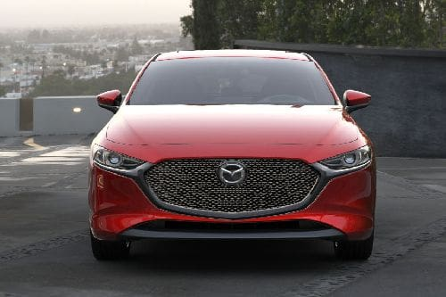 Full Front View of 3 Hatchback