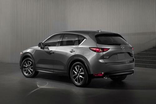 Rear Cross Side View of Mazda CX-5