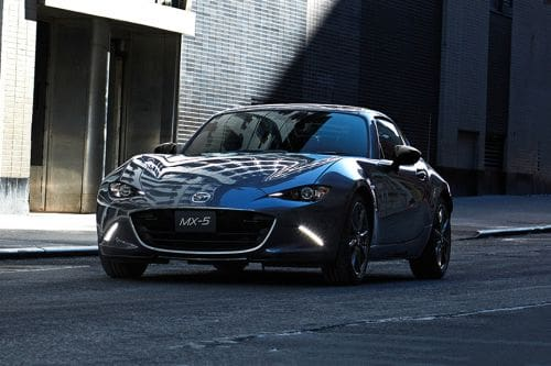 MX-5 RF Front angle low view