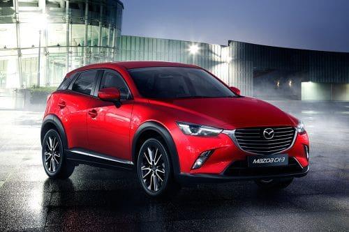 Mazda CX-3 Front Medium View