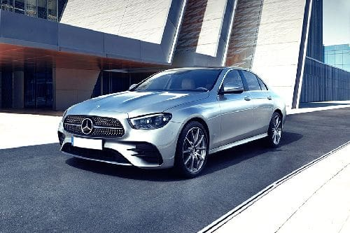 E-Class Sedan Front angle low view