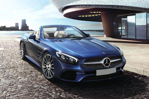 Mercedes-Benz SL-Class Front Medium View
