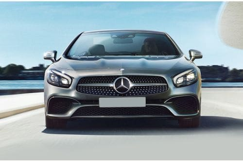 Full Front View of SL-Class