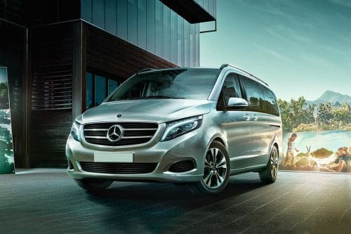 Mercedes-Benz V-Class Side Medium View