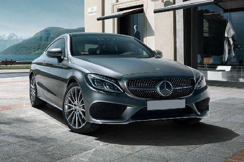 Mercedes-Benz C-Class Coupe Front Medium View