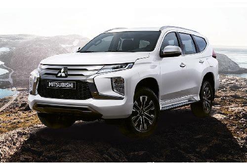 Mitsubishi Montero Sport Front Side View