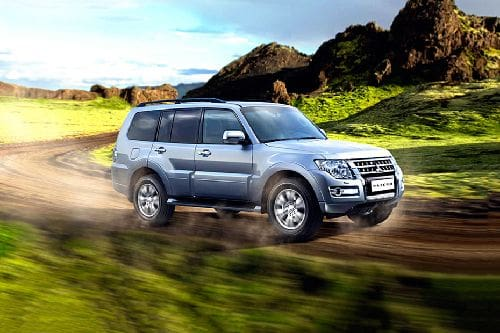 Pajero Front angle low view