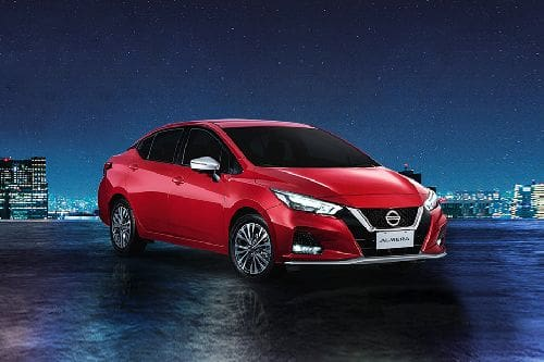 Almera 2021 Front angle low view