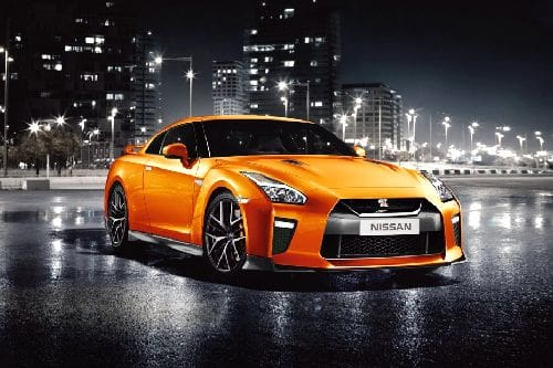 GT-R Front angle low view