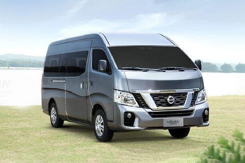 Nissan NV350 Urvan Front Medium View