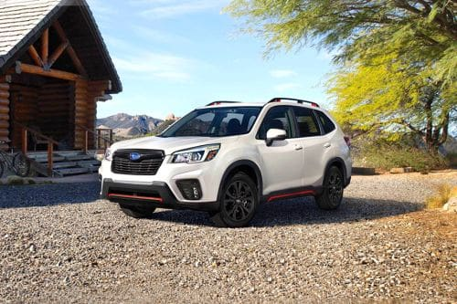 Forester Front angle low view