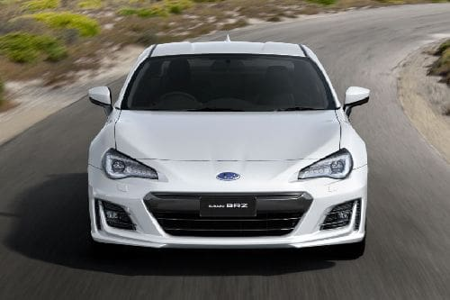 Full Front View of BRZ