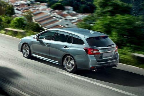 Rear Cross Side View of Subaru Levorg