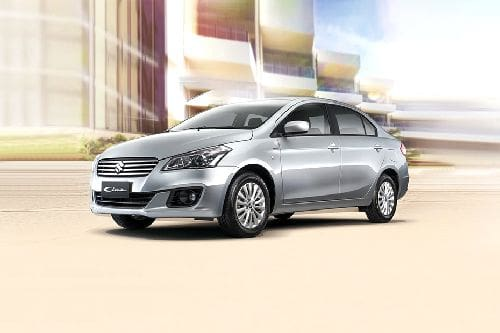 Ciaz Front angle low view