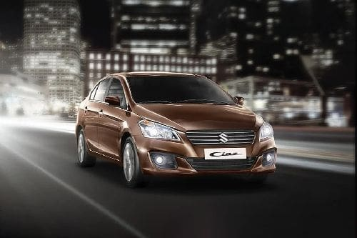 Suzuki Ciaz Front Medium View