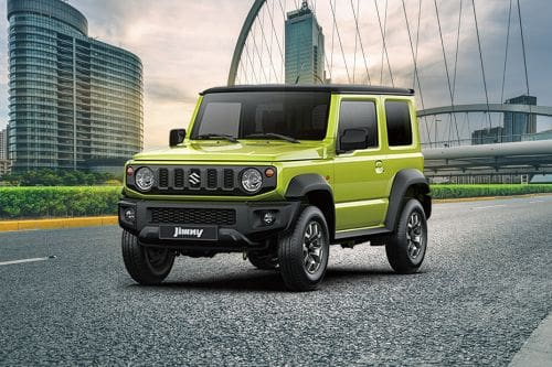 Jimny Front angle low view
