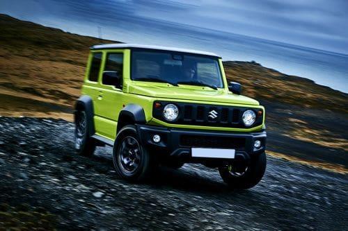 Suzuki Jimny Front Medium View