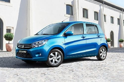Suzuki Celerio Front Side View