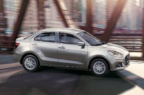 Suzuki Dzire Front Cross Side View