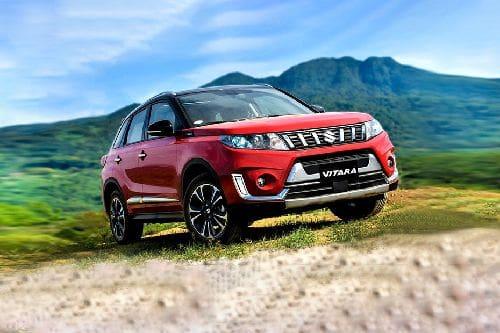 Suzuki Vitara Front Medium View