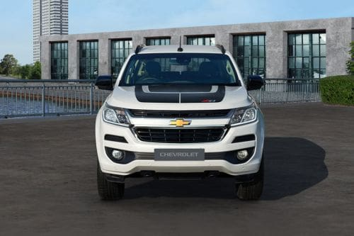 Full Front View of Trailblazer